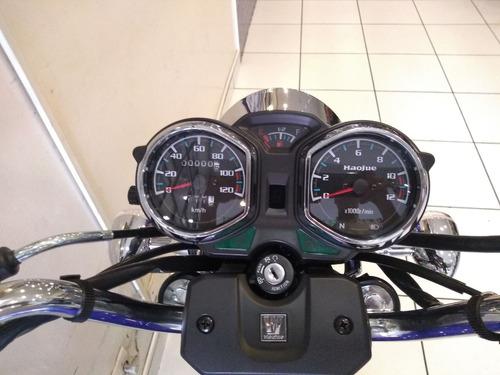 haojue chopper r 150 cbs 2020 0km - moto & cia