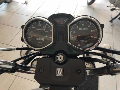 haojue chopper road 150 cbs 2020