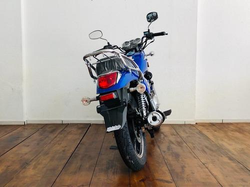haojue chopper road 150 cbs azul 2019 0km