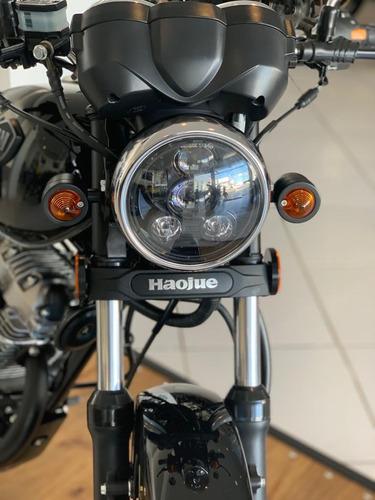 haojue chopper road 150  okm customizada