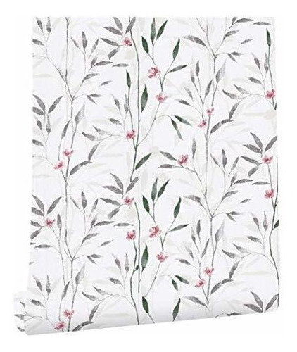 haokhome 93011 peel and stick victoria papel tapiz floral mu