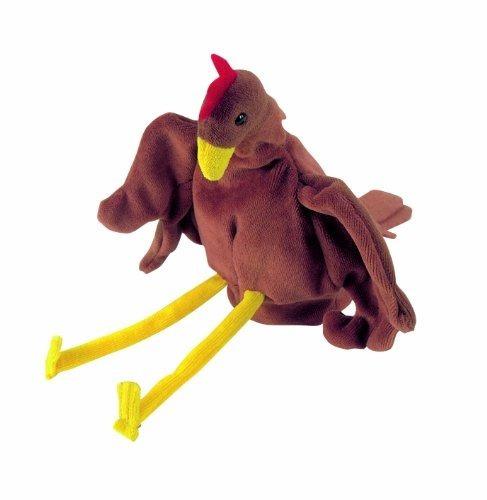 hape - beleduc - marioneta guante de pollo