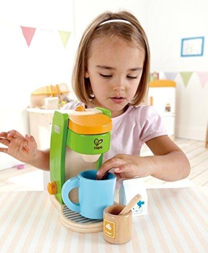 Hape Kids Coffee Maker Juego De Cocina De Madera Para Jugar