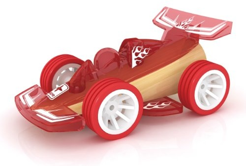 Hape Racer Bamboo Juguete Carro Juguete Madera Ninos Vehicul