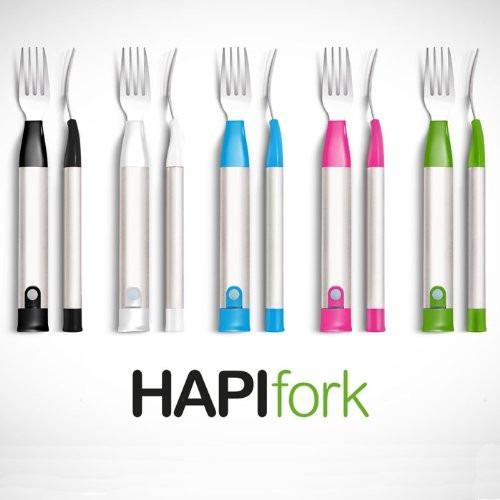 hapilabs el tenedor inteligente que controla lo que comes