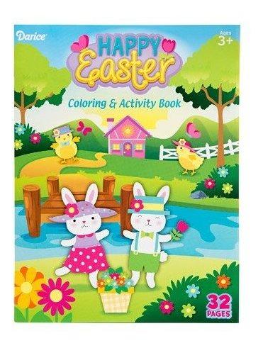Happy Easter Stuffers Basket Book Para Colorear Mini Egg Sh
