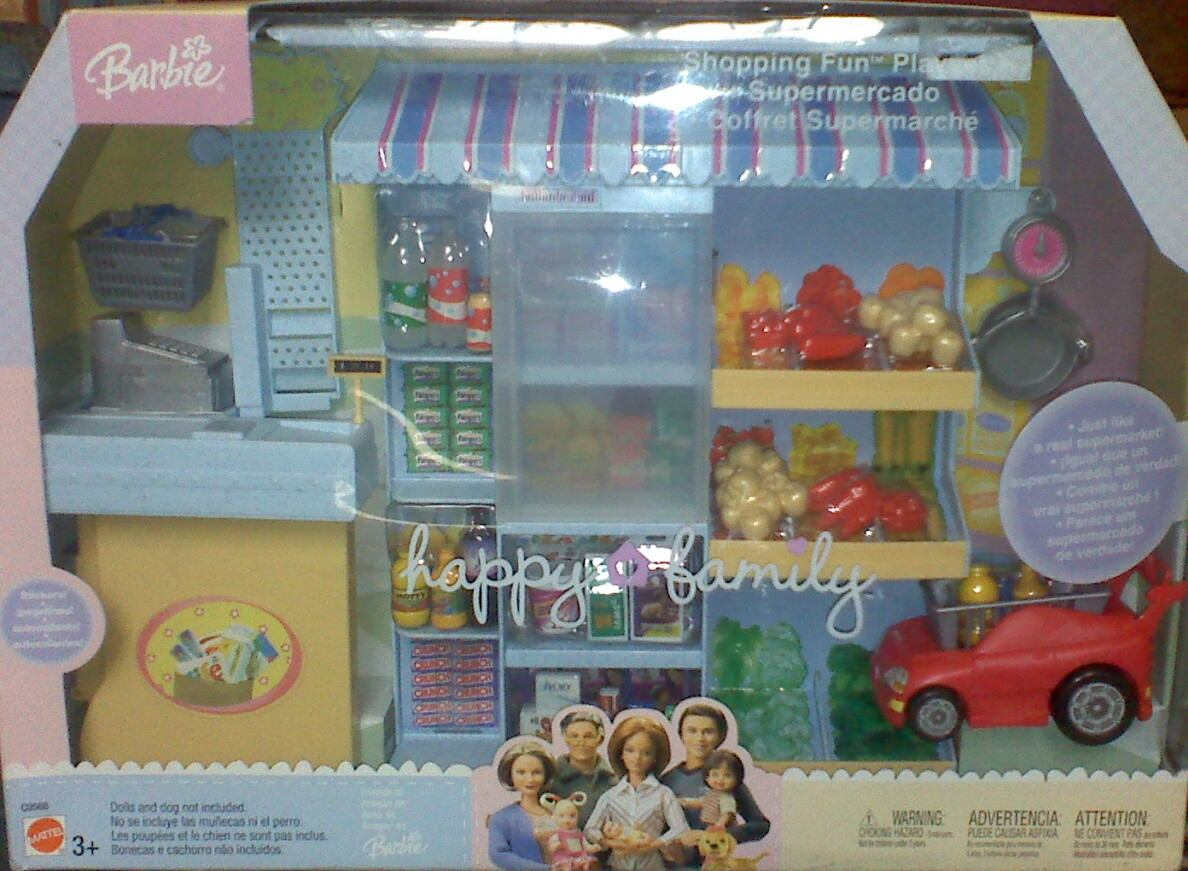 Happy family supermercado muebles y accesorios para barbie for Muebles para barbie