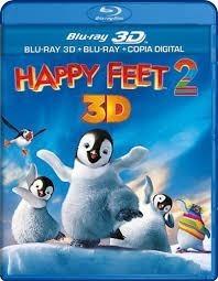 happy feet 2 blu-ray 3d + blu-ray+cópia digital