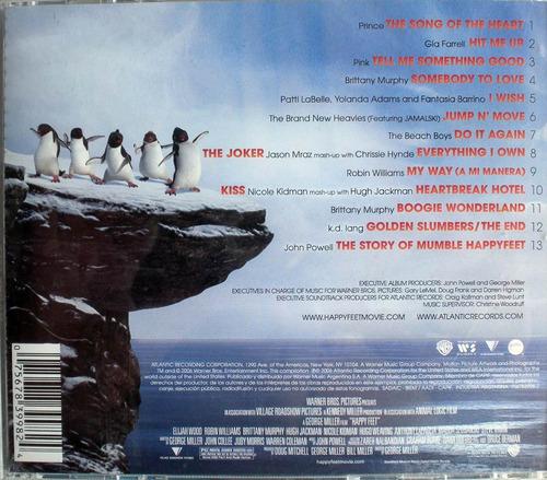 happy feet - cdpromo soundtrack nacional