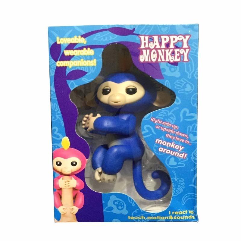 Happy Finger Monkey Changuitos Interactivos Juguetes 39900 En