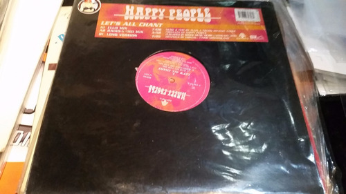 happy people let's all chant vinilo maxi temon 1996
