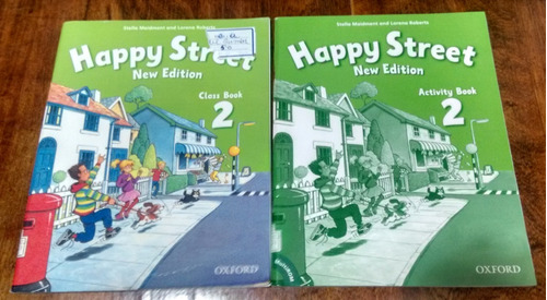 happy street 2 new edition  class + activity book - oxford