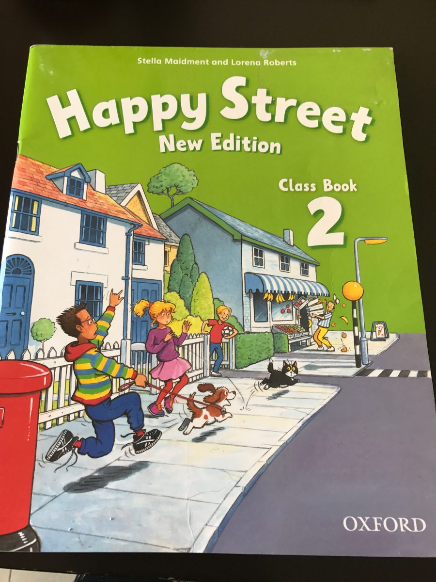 Happy Street 2 New Edition Class Book