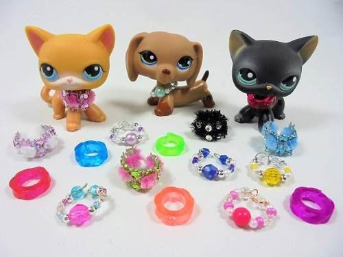 happyblockbuilder lps littlest pet shop accesorios collar