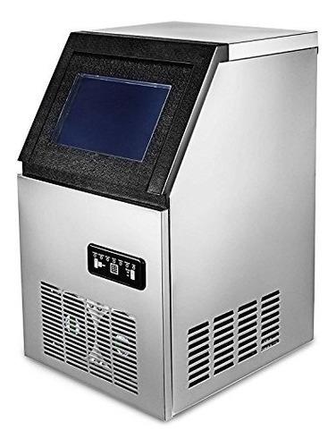 happybuy - máquina de hacer hielo de acero inoxidable incorp