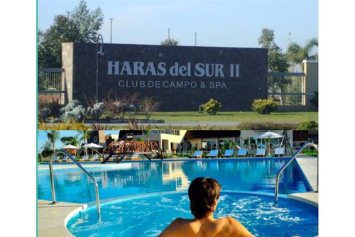 haras del sur ii, lote 1000 mts2 !!