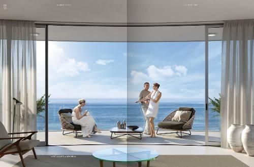 harbour beach. lujosas residencias de firma con prestigio mundial y vista al mar en novo cancún. 3 recs, puerto cancún