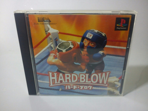 hard blow - ps1 play station 1 psx *box boxeo peleas*