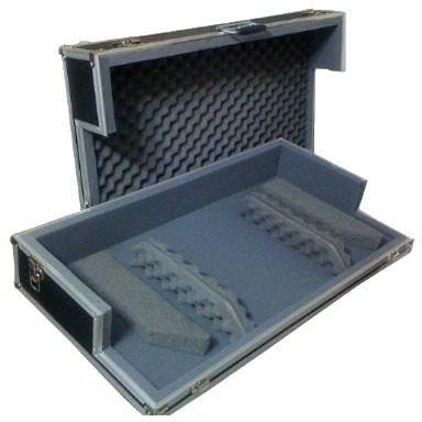hard case cdj 800/900/1000 + mixer c/ dimensões similares