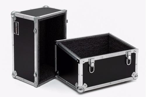 hard case para 100 discos de vinil - angulado