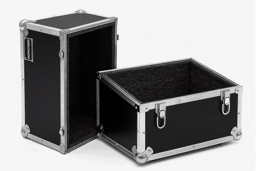 hard case para 70 discos de vinil lp angulado