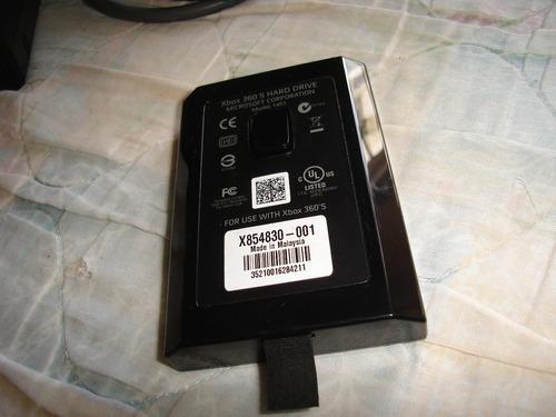 hard drive xbox 360 250 gb modelo 1451 (ojo 35vrdes)