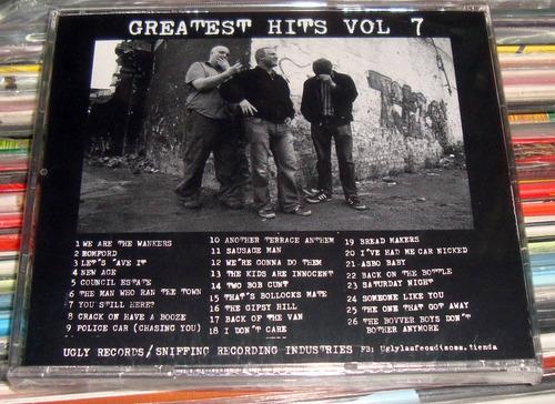 hard skin greatest hits vol 7 cd sellado