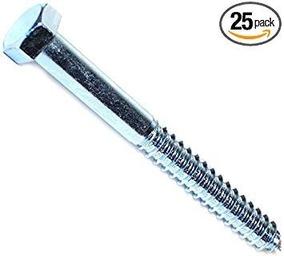 Hard-to-Find Fastener 014973150396 Hex Lag Screws 5//8 x 9 Piece-25