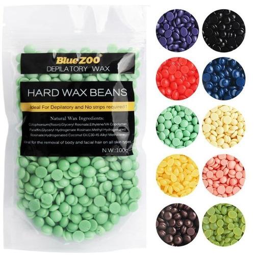 hard wax beans perla cera elástica depilatoria 100 gr
