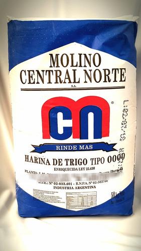 harina 0000 molino central norte x 50 kg