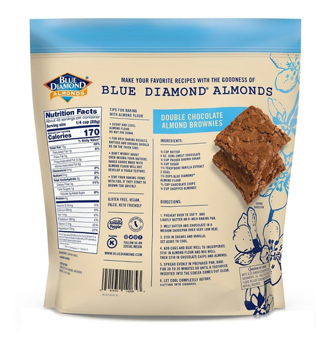 harina de almendra blue diamond (1,36 kg)