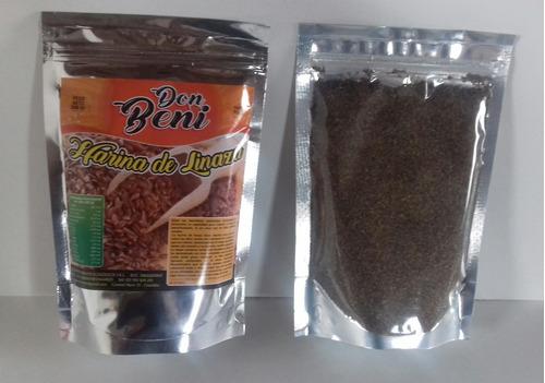 harina de linaza, excelente desinflamante digestivo y otros
