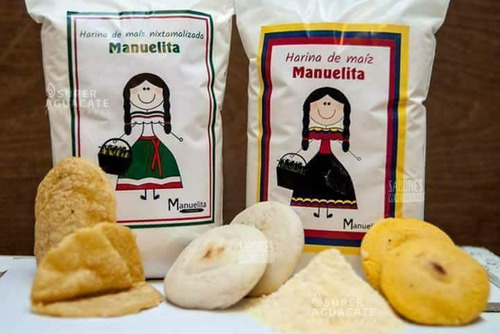 harina de maiz para arepas manuelita