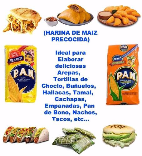 harina de maiz precocida, arepas, tortillas, hallacas