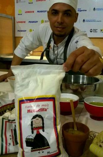 harina maiz blanca para arepas manuelita