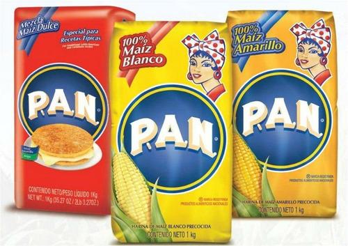 harina pan blanca y amarilla cachapas, arepas, venezolanas