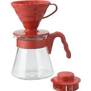 hario v60 café sever set red