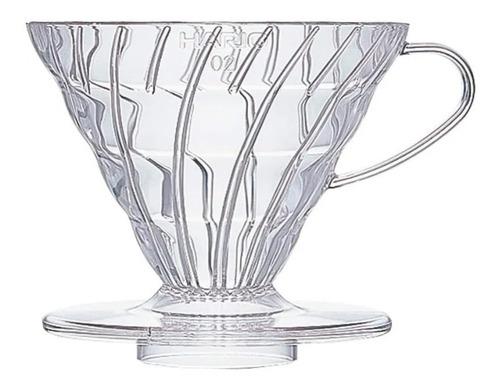 hario v60 dripper transparente 02 cafetera filtro