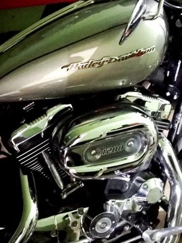 harley 1200 custom  igual a cero nueva (shadow, intruder,)