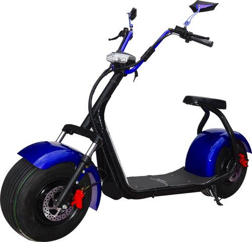 harley city scooter azul