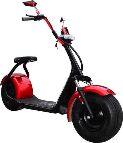 harley city scooter vermelha