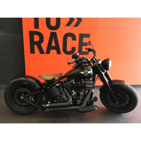 Harley Davidson -  Fat Boy - Preto
