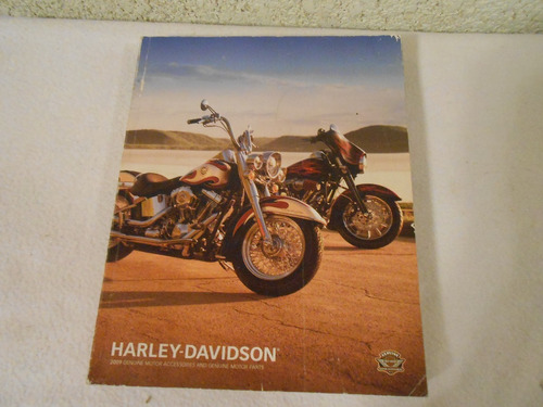 harley davidson 2009 catalogo de accesorios y partes