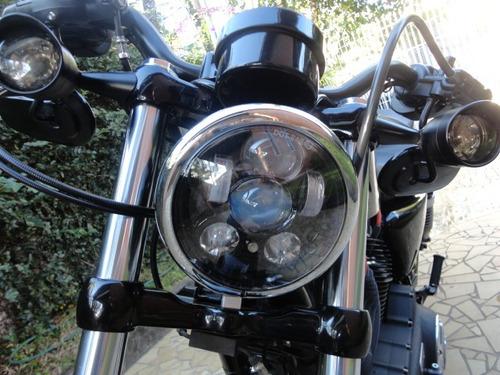 harley davidson 2014 forty-eight 1200 c prateada customizada