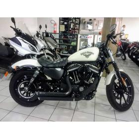 Harley Davidson 883 Iron Branca 2018