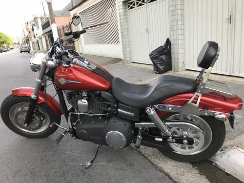 harley-davidson dyna fxdf fat bob 1600cc - freios abs - nova
