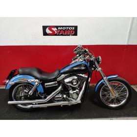 Harley Davidson Dyna Super Glide Custom Fxdc 2011 Azul