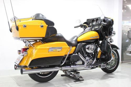 harley davidson electra glide ultra limited 2013 amarela