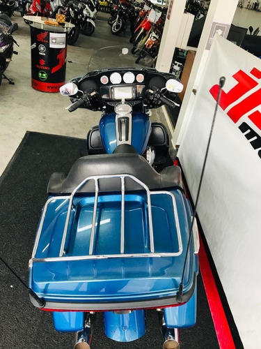 harley davidson electra glide ultra limited flhtk  2014 azul