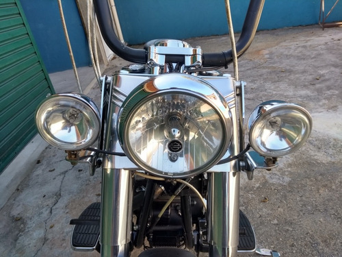 harley davidson fat boy 1450 carburada original.